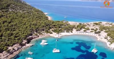 Μονή: Το νησί του Σαρωνικού που μοιάζει με επίγειο παράδεισο (Βίντεο)
