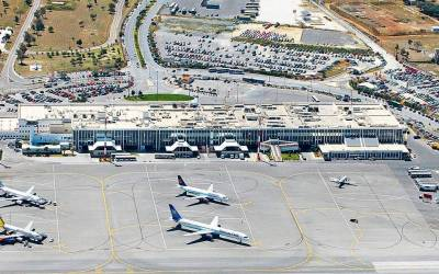Αύξηση 4,8% στην αεροπορική κίνηση το ενιάμηνο του 2019