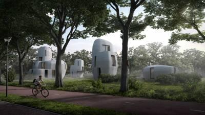 Ολλανδία: Το χωριό με τις 3D κατοικίες σε αλλοπρόσαλλα σχήματα (Βίντεο)