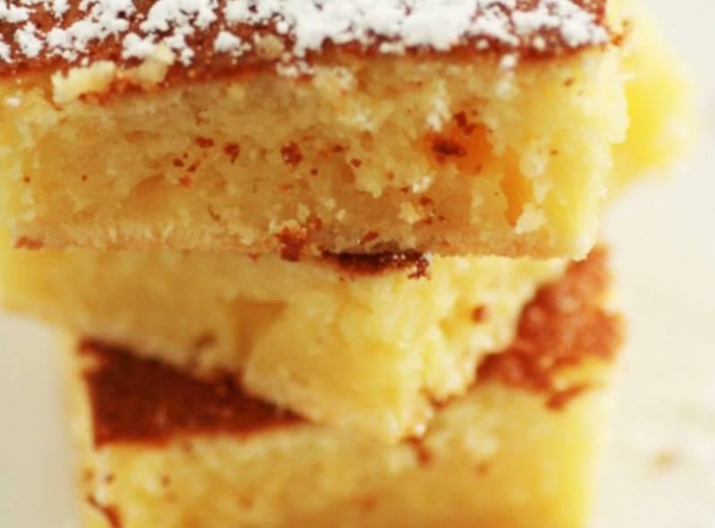 Λεπτό κέικ λεμόνι - Μια συνταγή από την γαλλική κουζίνα