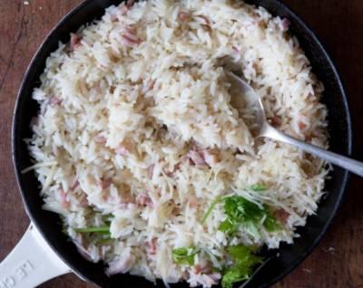Xωριάτικο γαλλικό ριζότο - Το πιάτο βασίζεται στην πλούσια γεύση