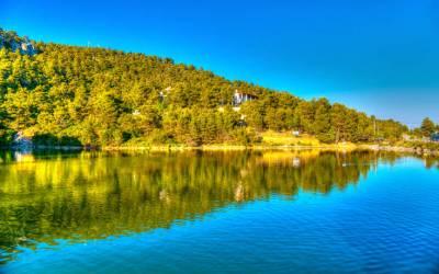 Λίμνη Μπελέτσι - Μια μικρή όαση έξω από το κέντρο της Αθήνας (Βίντεο)